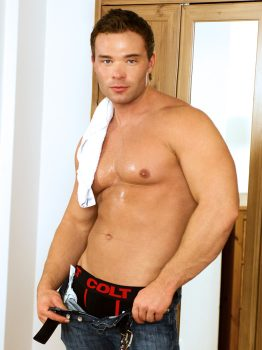 male muscle gay porn star Peter Stallion   hotmusclefucker.com