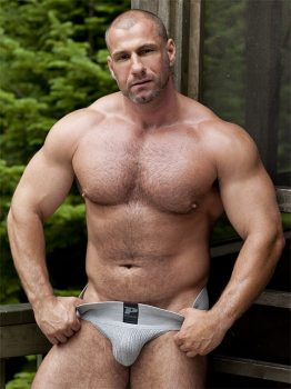 male muscle porn star: Marc Vallint, on hotmusclefucker.com