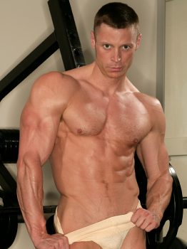 male muscle gay porn star Josh Weston | hotmusclefucker.com