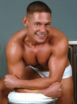 male muscle porn star: Roland Dane, on hotmusclefucker.com