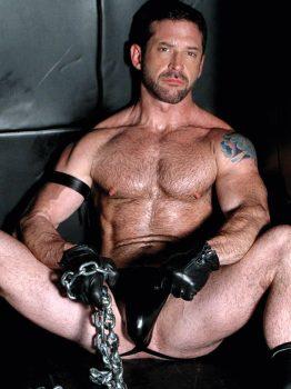 male muscle porn star: Sam Shadon, on hotmusclefucker.com