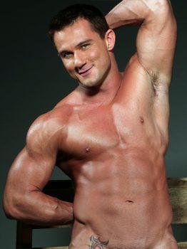 male muscle gay porn star Trey Casteel | hotmusclefucker.com