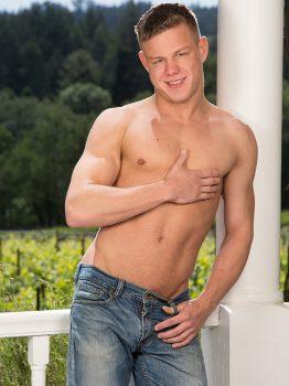 male muscle porn star: Joseph Rough, on hotmusclefucker.com
