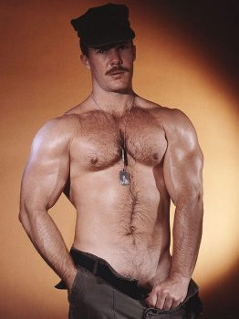 male muscle porn star: Butch Barnes, on hotmusclefucker.com