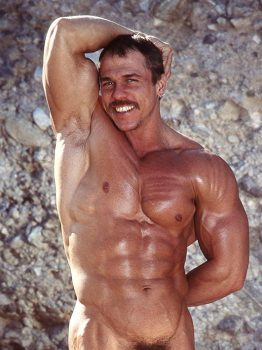 male muscle porn star: Frank Vickers, on hotmusclefucker.com