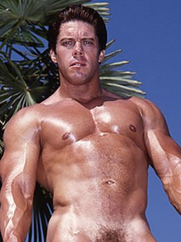 male muscle porn star: Bob Wood, on hotmusclefucker.com