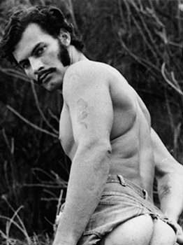 male muscle porn star: Ed Brandon, on hotmusclefucker.com
