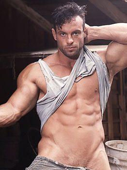 male muscle gay porn star Matt Horner | hotmusclefucker.com