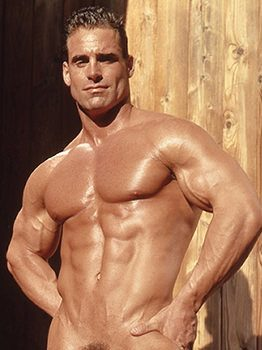 male muscle porn star: Myles West, on hotmusclefucker.com
