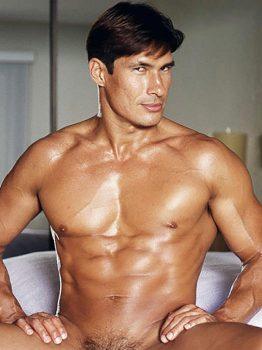 male muscle porn star: Rio Majeska, on hotmusclefucker.com