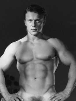 male muscle porn star: Andreas Cahling, on hotmusclefucker.com
