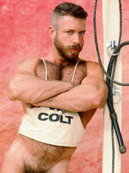 male muscle porn star: Marshall Cline, on hotmusclefucker.com