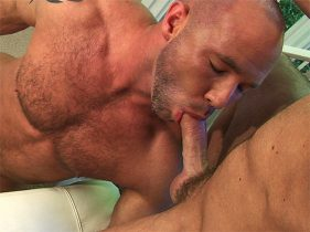 gay muscle porn clip: RIPPED: NO PAIN ALL GAIN - Darin Hawk & Ty Lebeouf, on hotmusclefucker.com