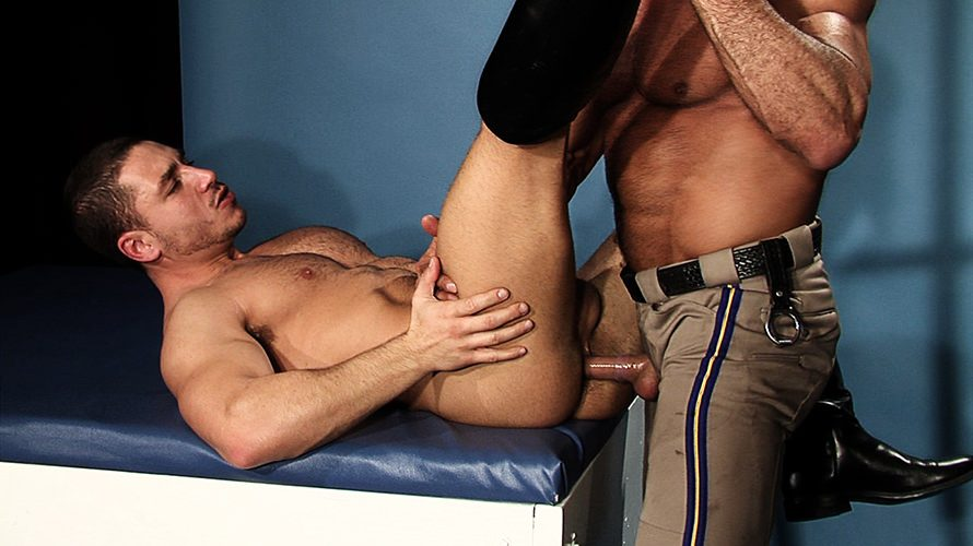 Sexy Guys In Uniform Sucking