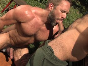 gay muscle porn clip: FUR MOUNTAIN - Dirk Caber & Spencer Reed, on hotmusclefucker.com