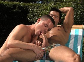 gay muscle porn clip: CURIOUS - Hugo Alexander & Luke Cassidy, on hotmusclefucker.com