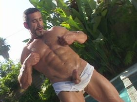 gay muscle porn clip: Minute Man 23 - Leo Rocca, on hotmusclefucker.com