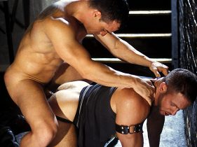 Todd Maxwell & Dave Angelo in HOG: THE LEATHER FILE | hotmusclefucker.com